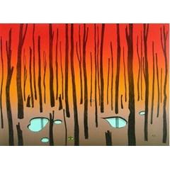 Obrázek Finský les