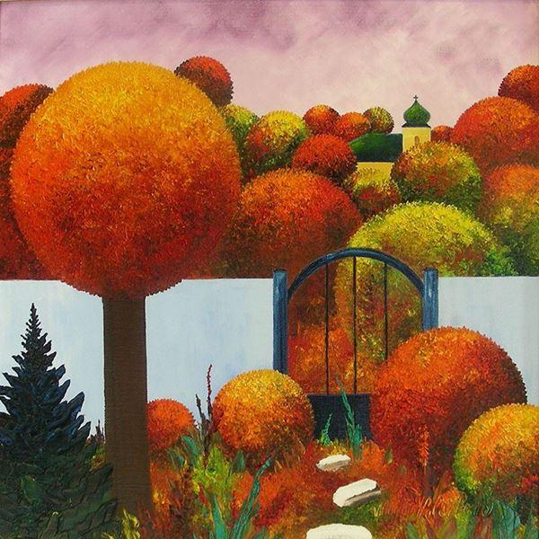Obrázek z Podzim v zahradě