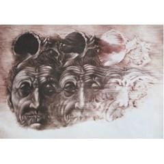 Obrázek Dáma s mušlí, 2000